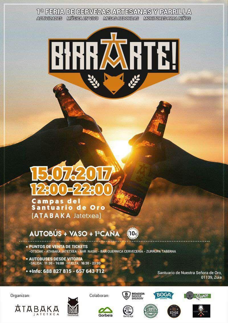 Birrarte – 1º Feria Cervezas Artesanas y Parrilla